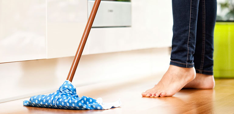 Kitchen Cleaning Mopping