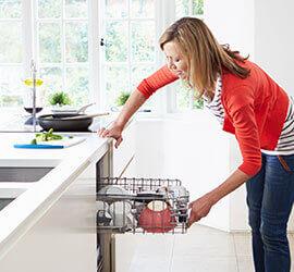 Programme de nettoyage de cuisine avec Windex