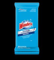 Windex® Glass Wipes Pouch