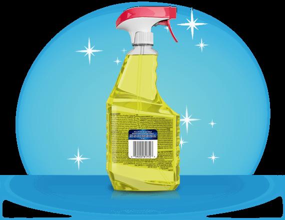 Windex® Multi Surface Antibactérien Désinfectant 2 (arrière)