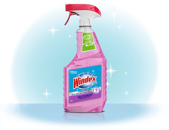 Windex® Multi-Surface Cleaner Lavender CA Front