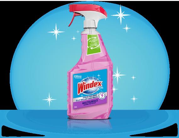 Windex® Multi Surface Nettoyant Lavande et Fleur de Pêcher (devant)