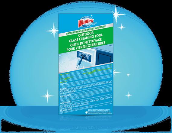 Windex® Extérieur Tout-en-un Nettoie-vitres (arrière)